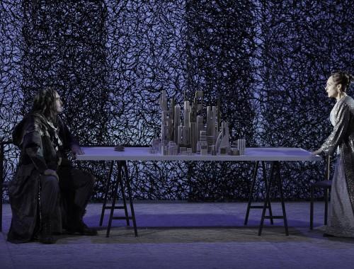 Wotan (Thomas Hall) / Fricka (Cristina Melis)