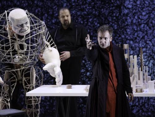 Fasolt (Timo Riihonen) / Loge (Michael Müller)