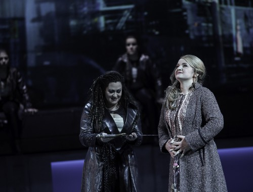 Brünnhilde Jane Dutton | Sieglinde, Agnieszka Hauzer | Waltraute, Fiorella Hincapié | Ortlinde, Julia Borchert